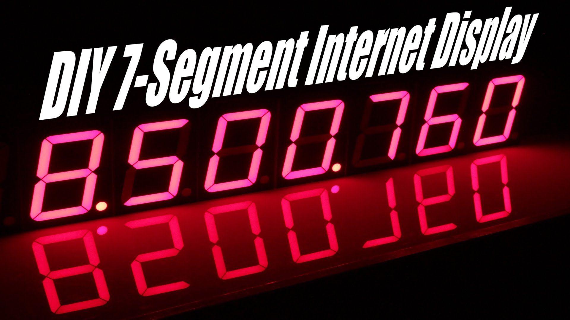 Seven Segment Display With Data Via Web Mcu Esp8266 Raspberry And Tutorials Digital Systems Part 4 Decoder For 7segment