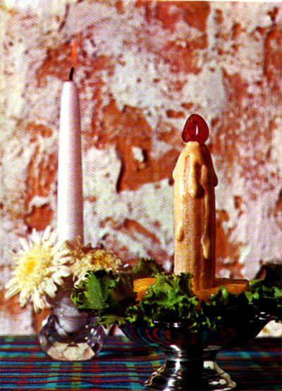 banana candle