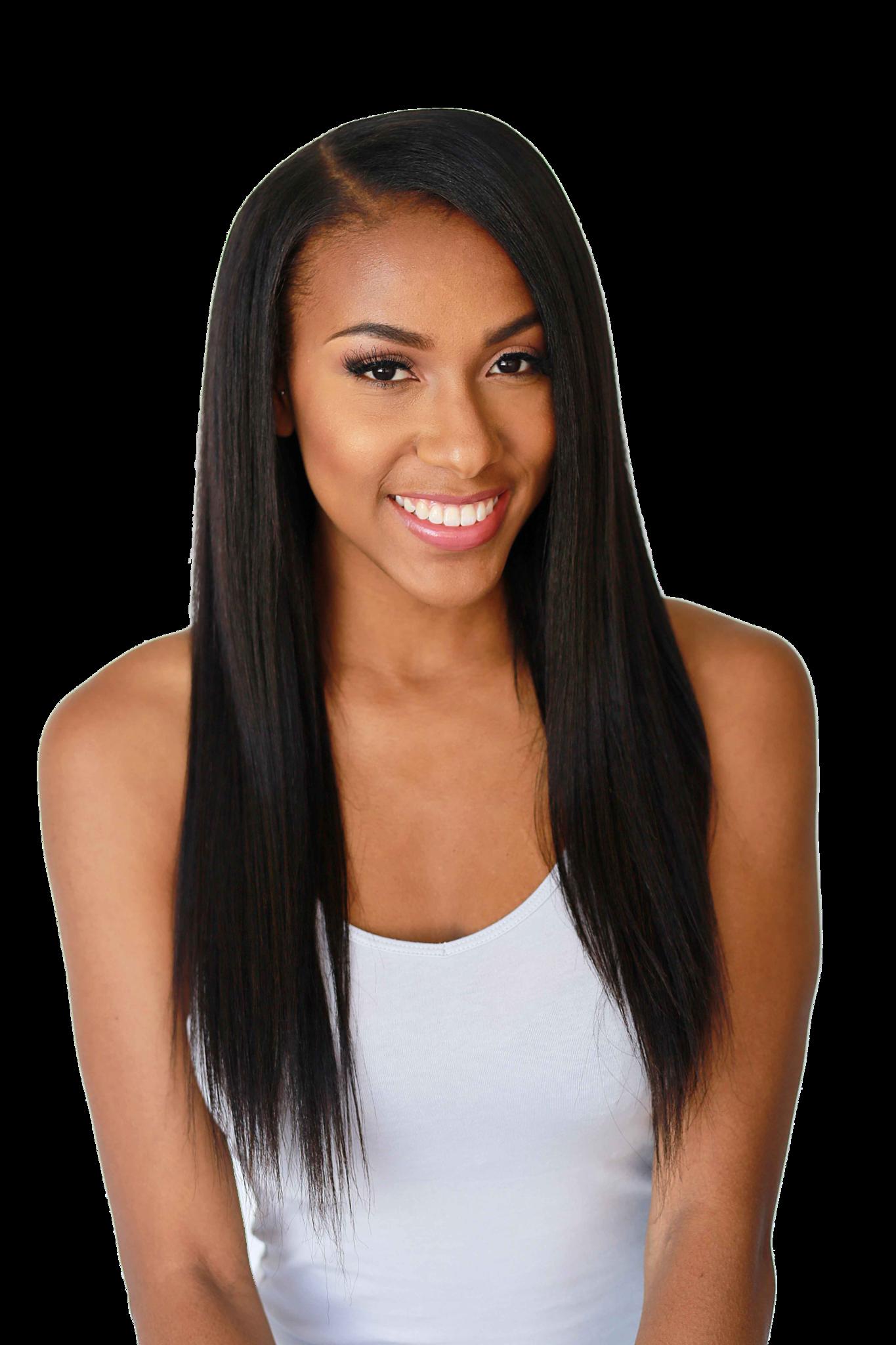 Not So Knappy Clip Ins Hair Pinterest Hair Hair Extensions