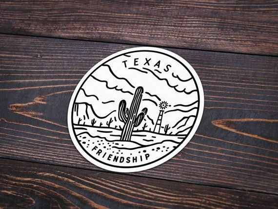 Texas Sticker | Texas Decal | Multiple Sizes Available ...