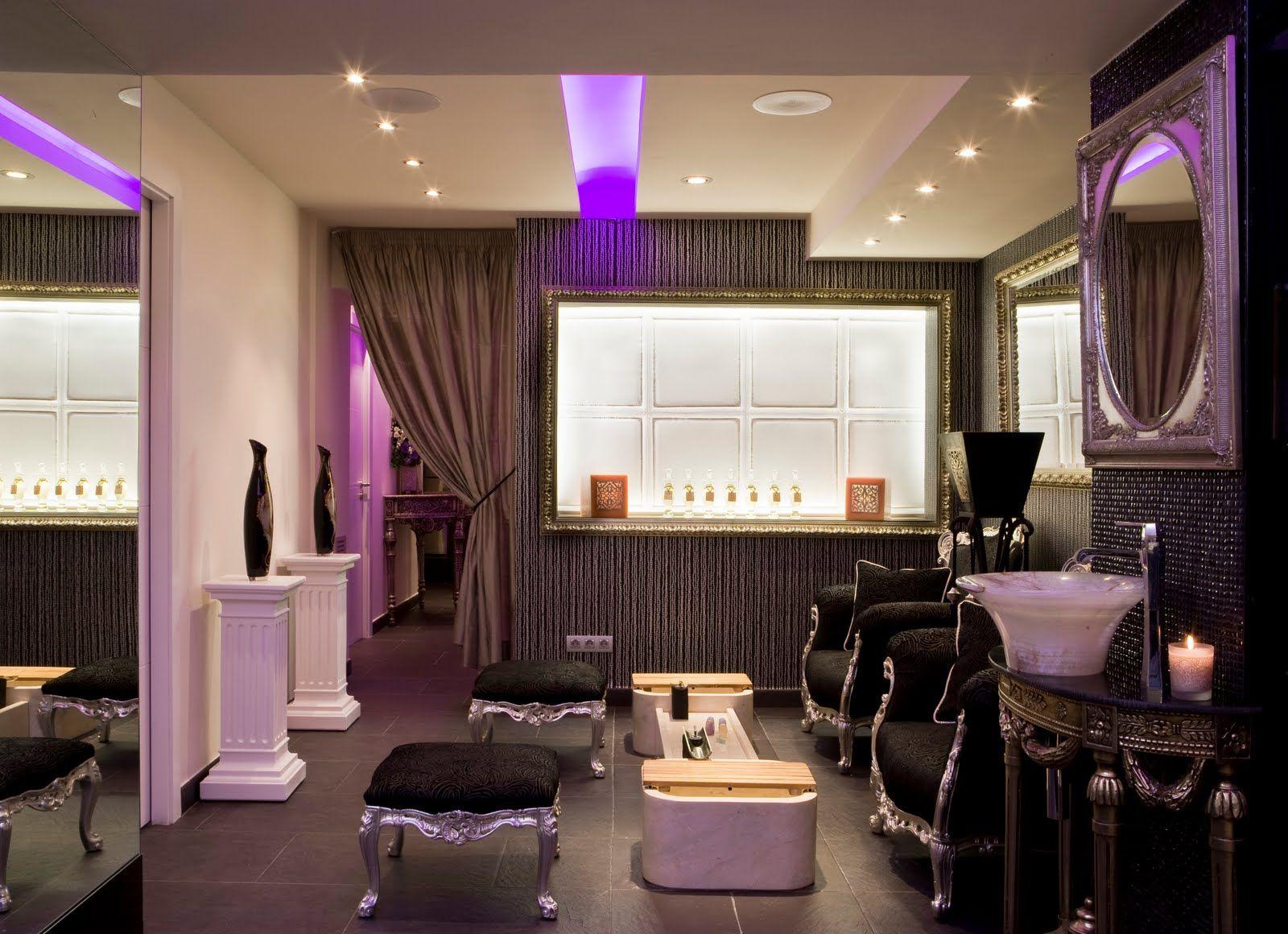 Decoraci N De Salones De Peluquer A Pinteres  # Muebles Para Estetica Wella