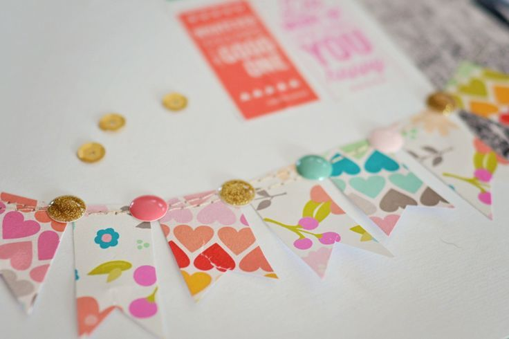 Cute little washi tape banner scrapbook do it yourself cute little washi tape banner scrapbook do it yourself banners for paper solutioingenieria Image collections