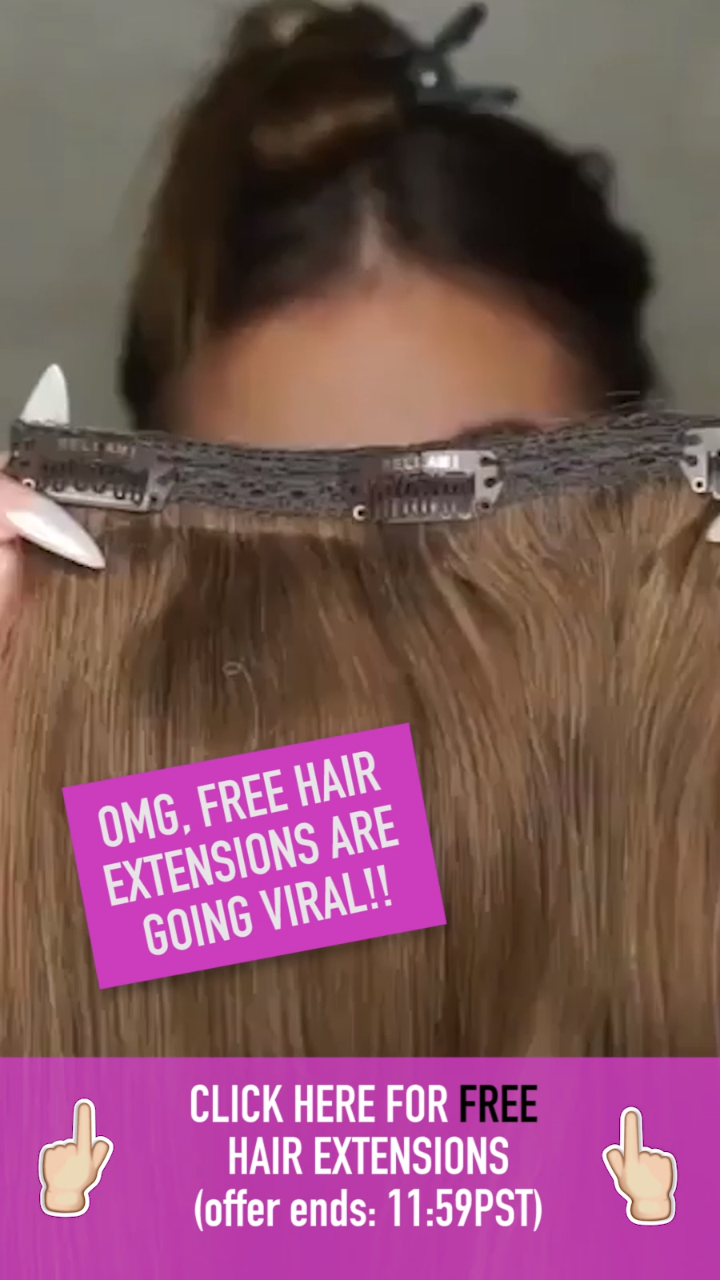 This Company Is Giving Away Free Hair Extensions Braids