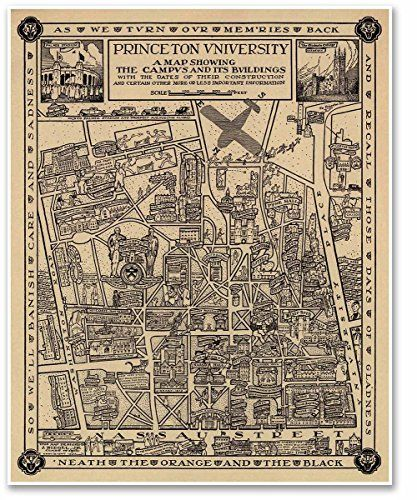 Brockton Va Campus Map.Pin By Havana Mike On Vintage Campus Maps Pinterest Princeton