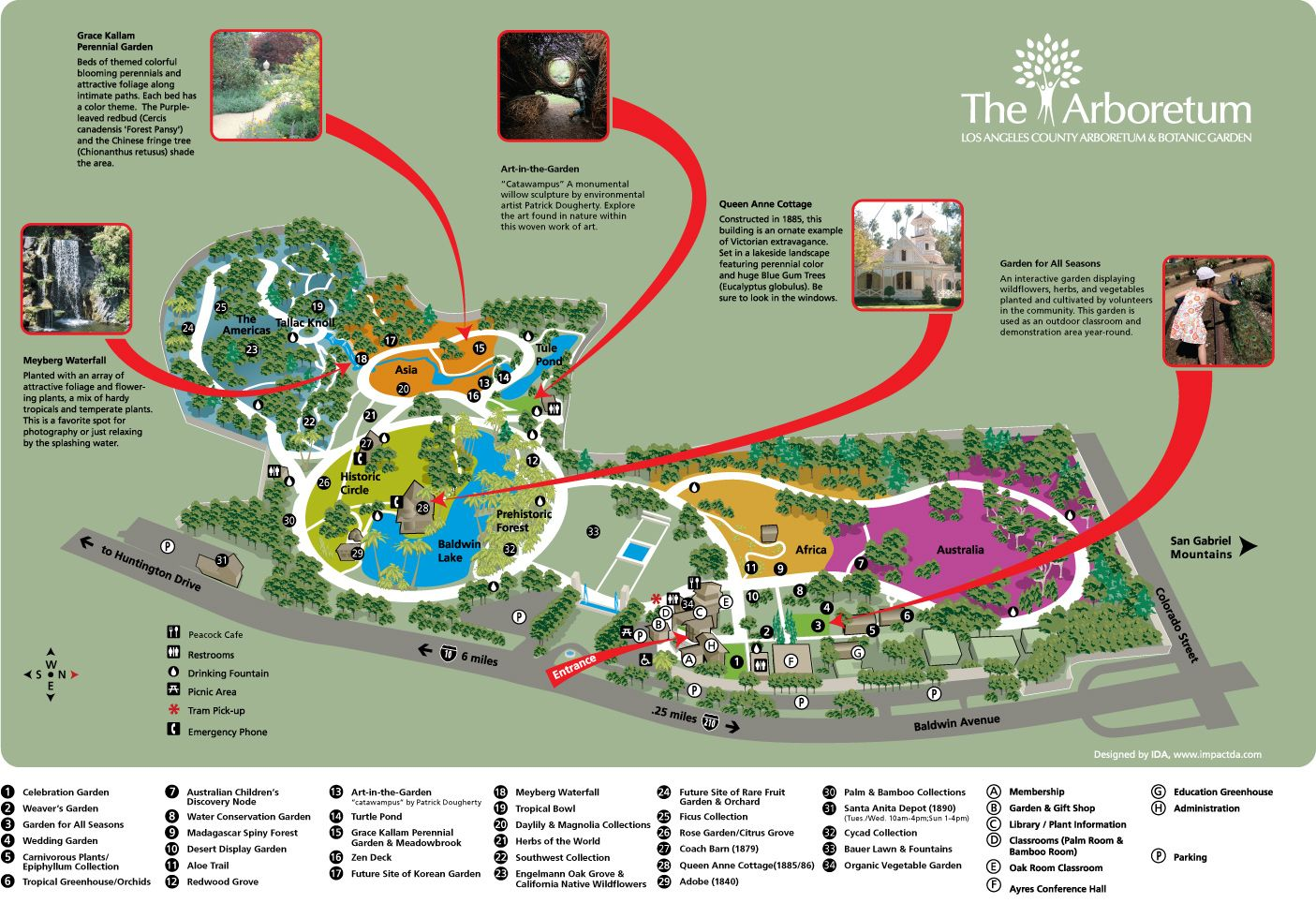 The Los Angeles County Arboretum Botanic Garden Do Pinterest Park And Explore