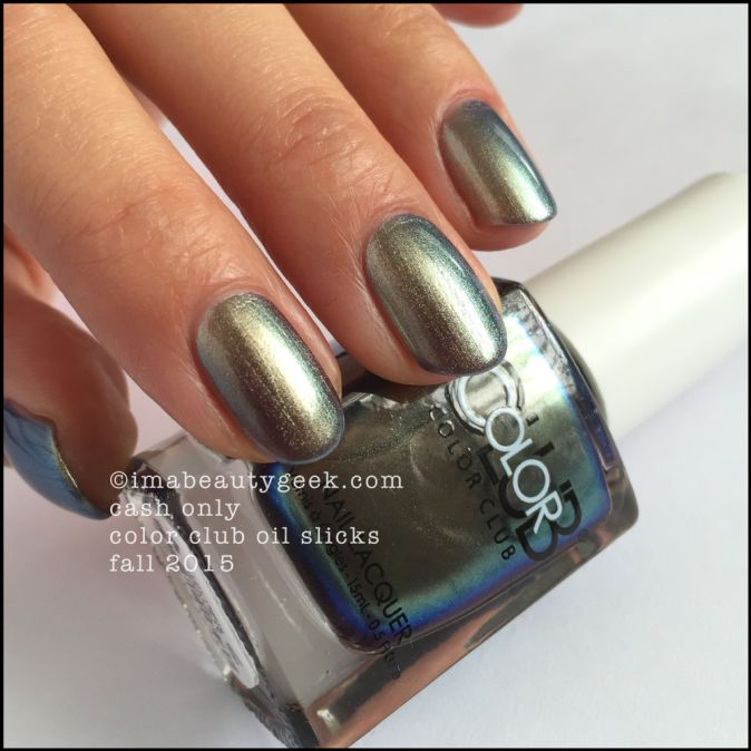 COLOR CLUB OIL SLICK COLLECTION: MEGA-SWATCHIN' | Beautygeeks