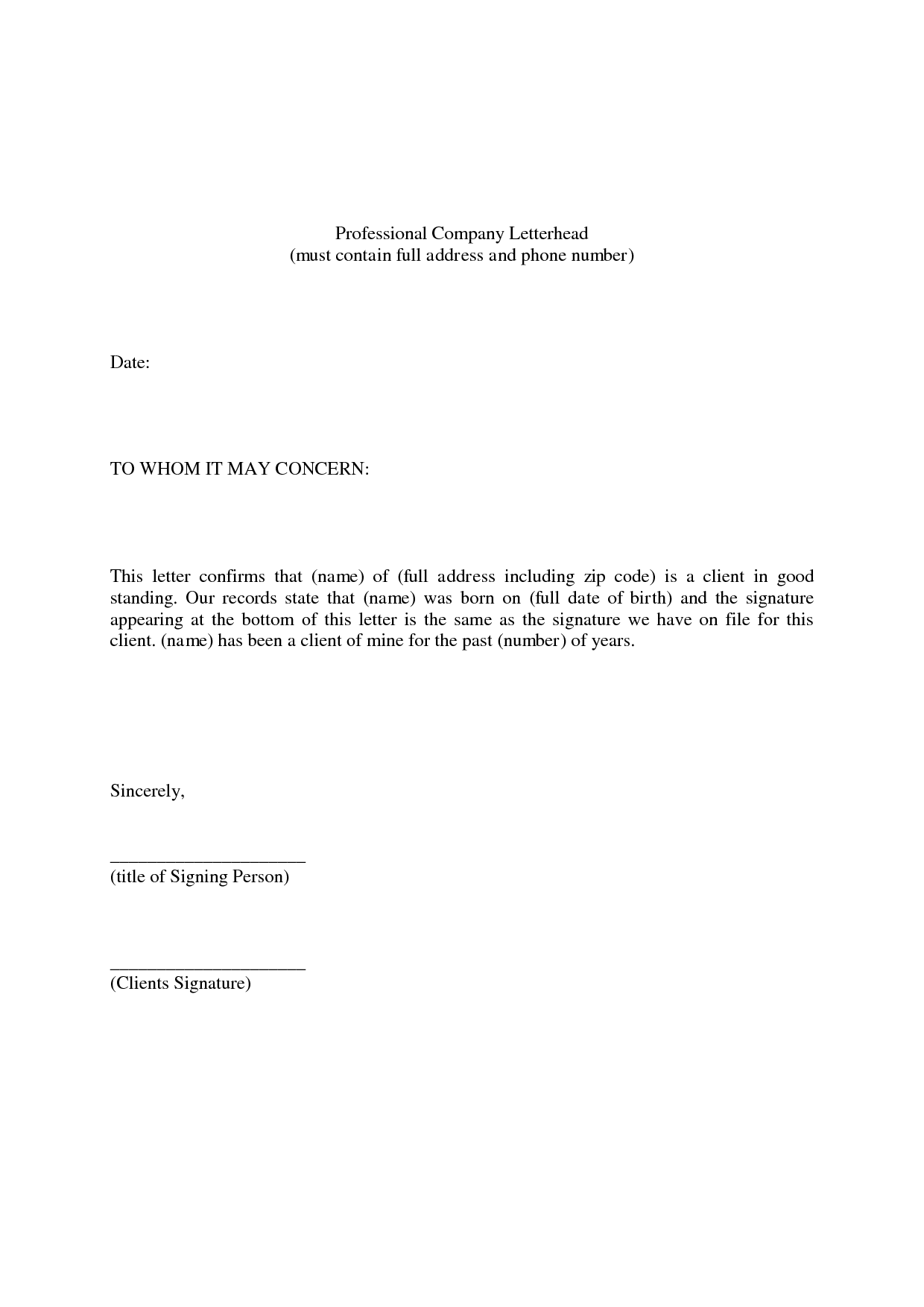 New Personal Recommendation Letter for A Job you can ...