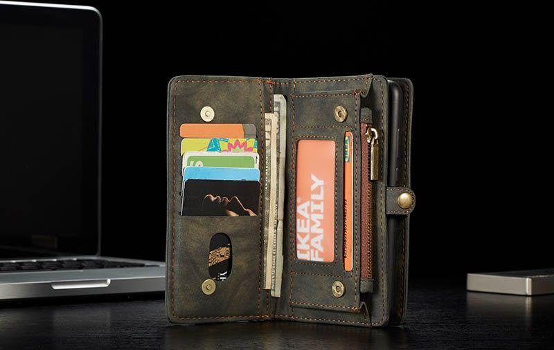 Caseme huawei p20 lite multislot zipper wallet
