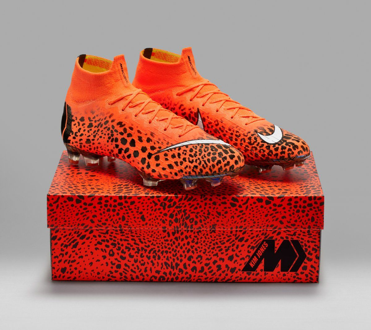 Nike Mercurial Superfly 360 x Kim Jones. Piel de Guepardo Gran Sport ... c618aebf21bc9