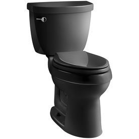 Kohler Cimarron Black Black Elongated Chair Height 2 Piece Toilet 12 In Rough In Size Products Kohler Cimarron Chair Height Toilet