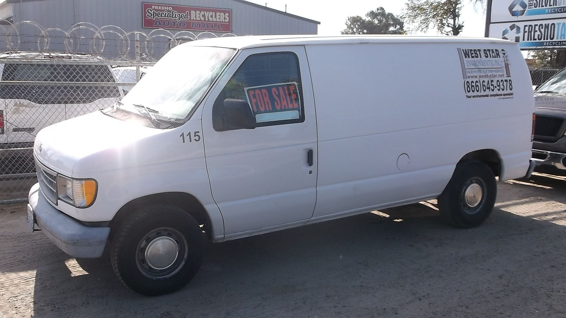 For Sale 1 450 1994 Ford Econoline E150 4 9l 194k Miles Ford Auto Parts Cold Air Intake