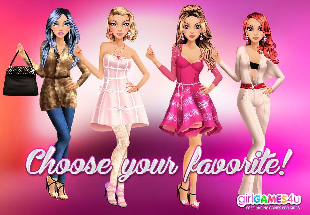 Choose Your Favorite Fashion Diva Girls Http Www Girlgames4u Com Make Me A Fashion Diva Game Html Girlgames4u Games For Girls Girl G Diva Fashion