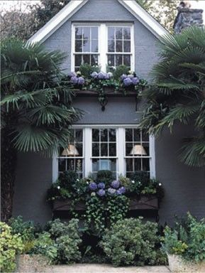 This Color Of Grey For The Exterior Of The House House Paint Exterior Outdoor Gardens Garden