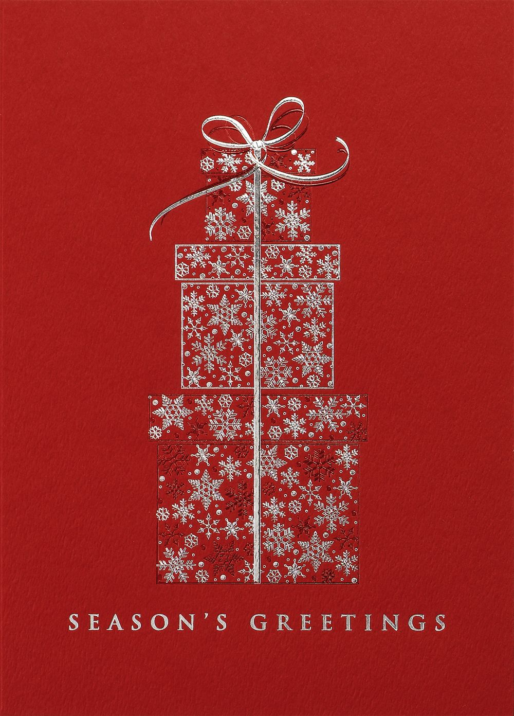exquisite packages christmas greeting card  holiday card