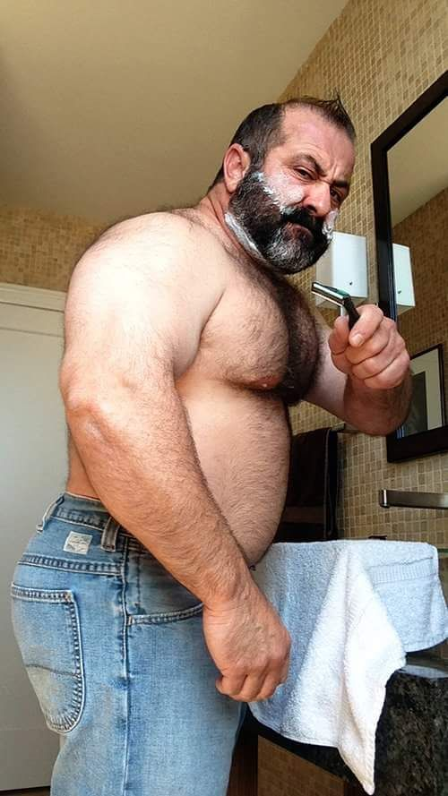 Butt Gay Hairy Man Older