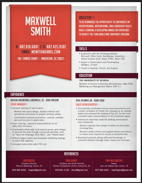 banner resume