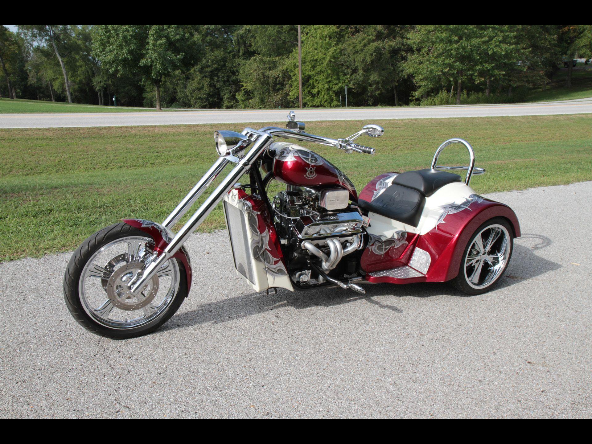 v8 trikes 2011 v8 choppers sp series sport trike front. Black Bedroom Furniture Sets. Home Design Ideas