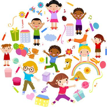 playing children cartoon vector set aliki Pinterest Children - cartoon children play