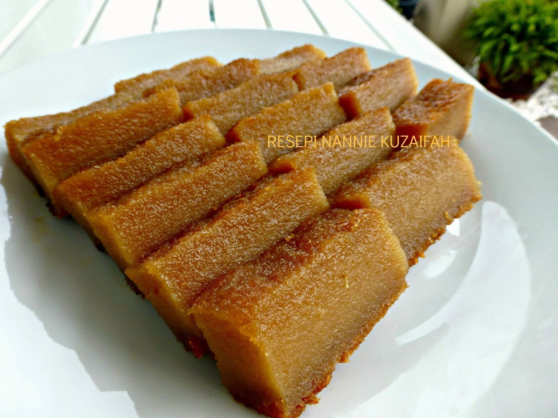 Resepi Nennie Khuzaifah Bingka Ubi Kayu Recipes Food Desserts