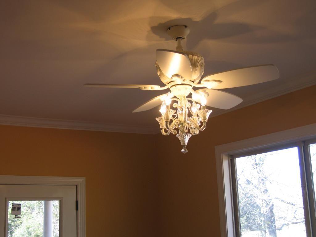 White Flower Ceiling Fan Light Kit Httpcreativechairsandtables