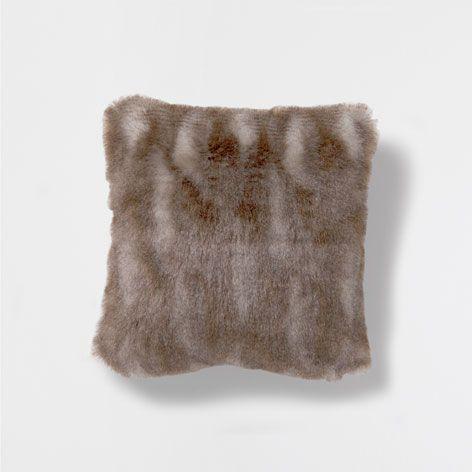 FUR PILLOW   Decorative Pillows   Decor And Pillows | Zara Home United  States