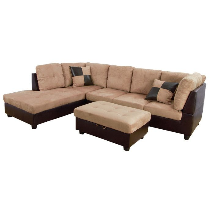 Found it at Wayfair - Russ Sectional  sc 1 st  Pinterest : wayfair sectional sofa - Sectionals, Sofas & Couches