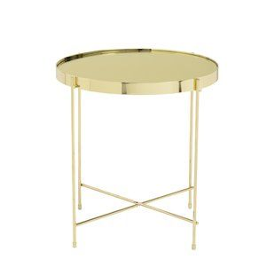 Shop Wayfair For All The Best Gold End Side Tables Under - Wayfair gold end table