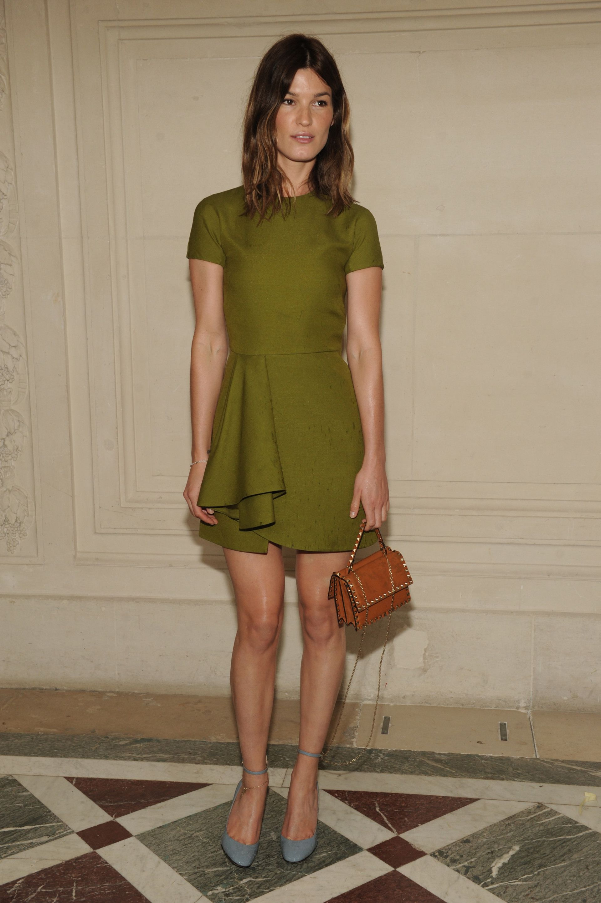 Hanneli Mustaparta at the Haute Couture Fall/Winter 2014-15 show in Paris, the 9th of July 2014