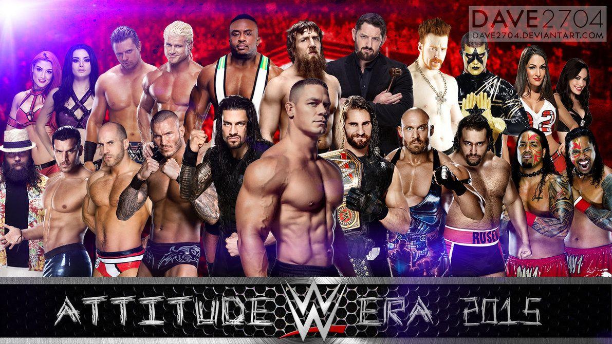 wwe 2015 | WWE Attitude Era 2015 Wallpaper by dave2704 on DeviantArt ...
