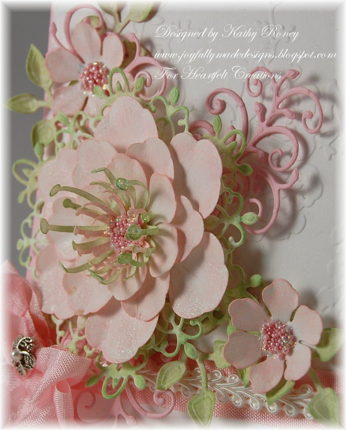 Happy wednesday its time for a little inspiration from heartfelt happy wednesday its time for a little inspiration from heartfelt creations this week i card making techniquescard birthdayflower izmirmasajfo Images