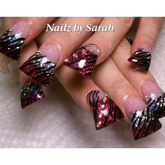 Acrylic nails | nail stuff | Pinterest | Flare acrylic nails ...