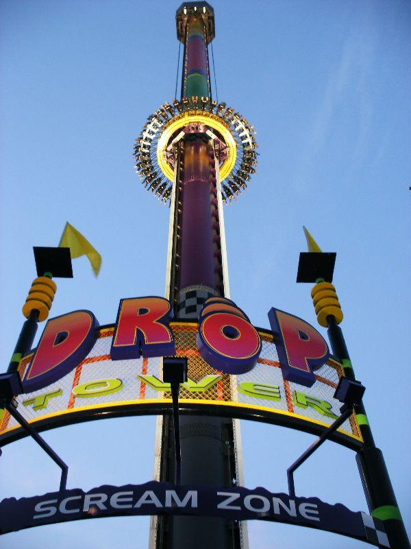 Drop Tower at Kings Island, loved this!! | Kings island ...