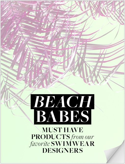 What's In Her Makeup Bag: Swimwear Designers Spill Their Beach Essentials - Celebrity Style and Fashion from WhoWhatWear