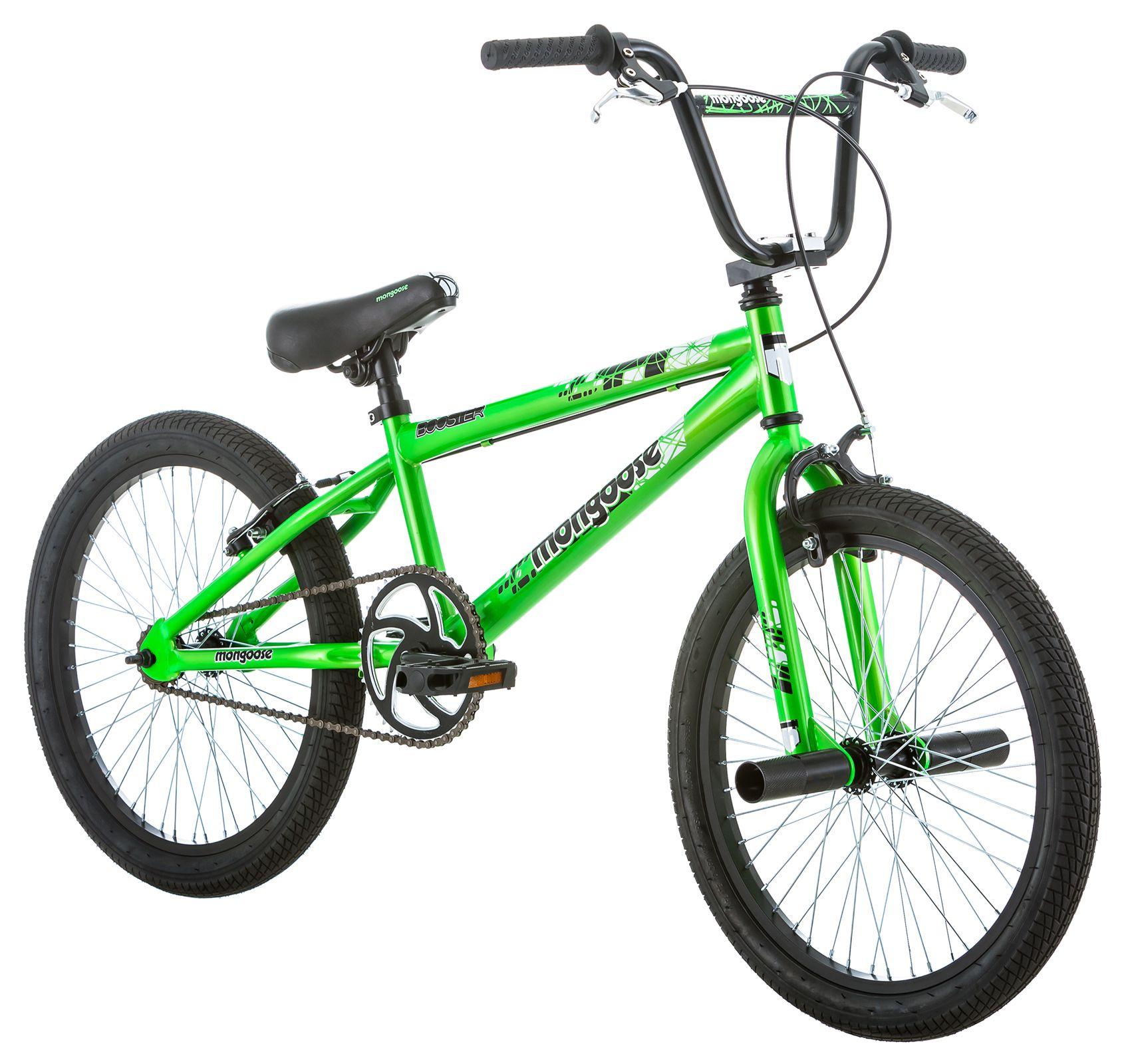 Mongoose 20 Boy S Bmx Booster Green Bmx