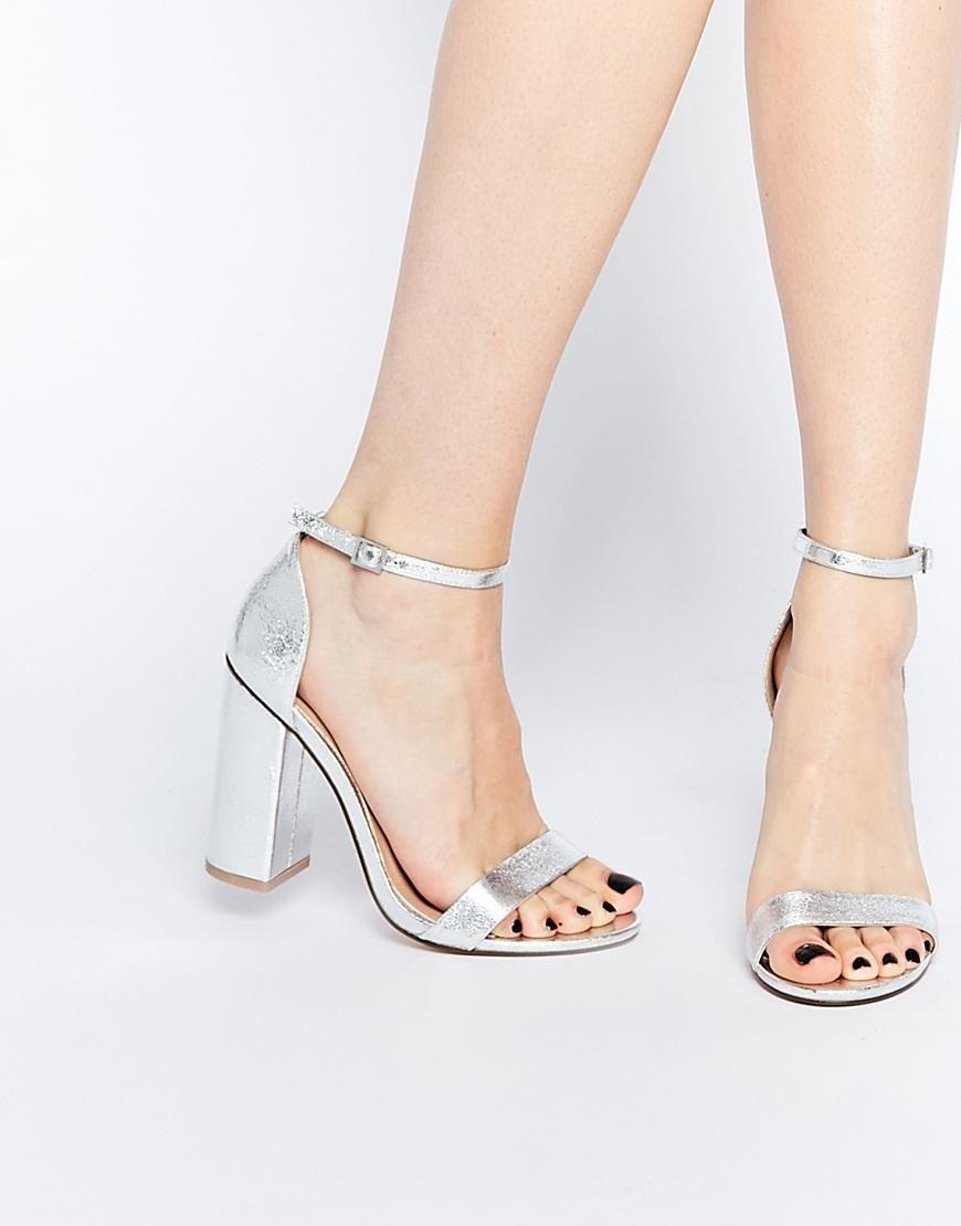 ASOS | ASOS HERE GOES Heeled Sandals at ASOS