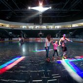 Roller Skating At The Town Toyota Center