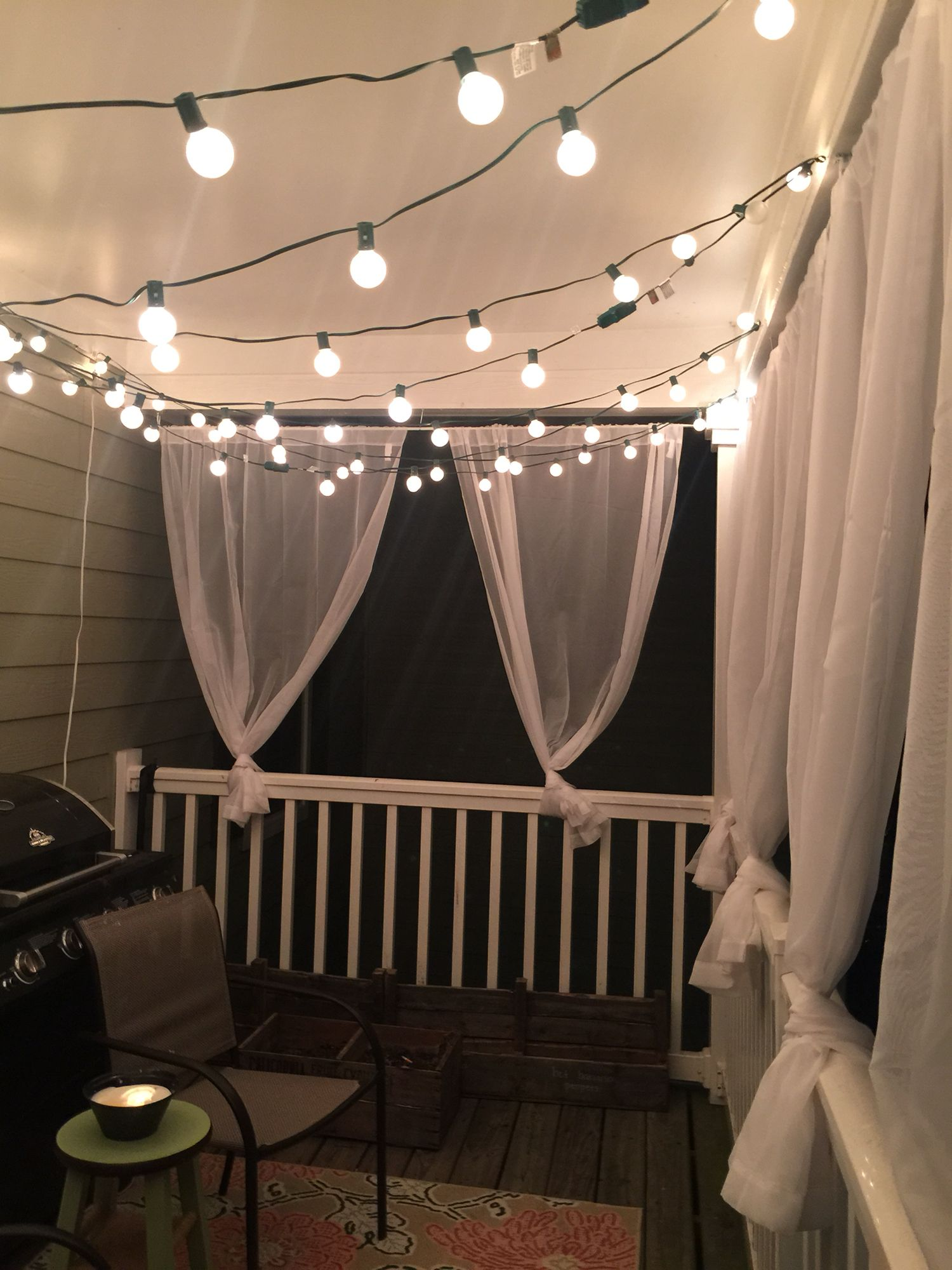 My diy balcony makeover on a budget balcony pinterest for Apartment porch decorating ideas