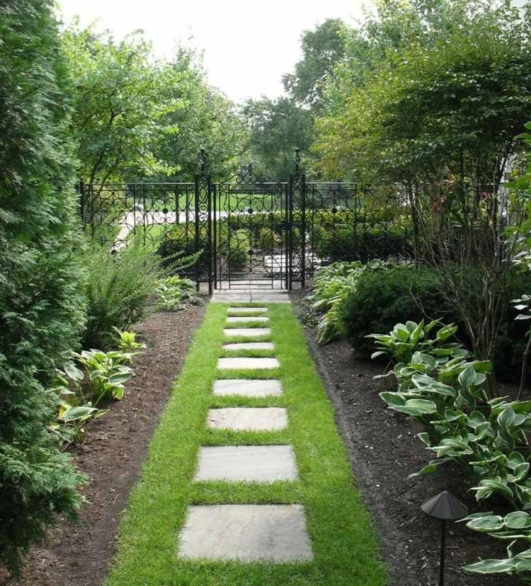 La porte de jardin moderne en 50 exemples