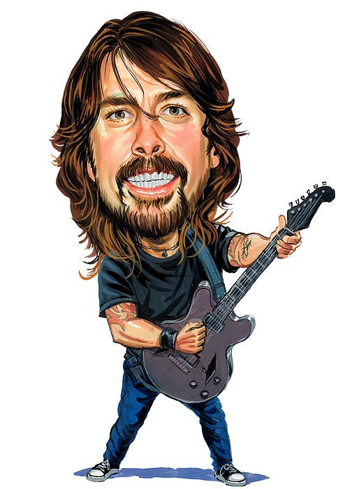 Photo of Dave Grohl yay
