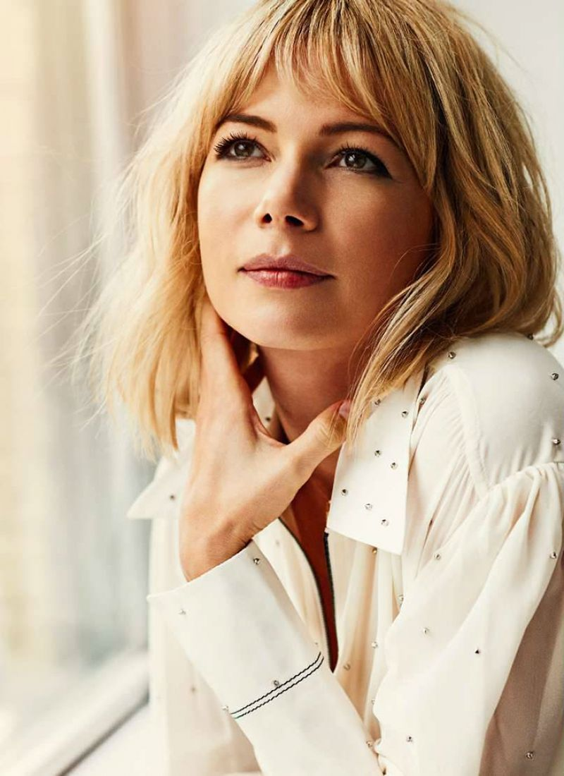 Michelle Williams Photoshoot For Elle France October 2015 Hair