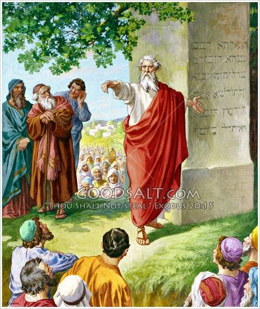 Moses And Jethro Moses Bible Illustrations Jethro