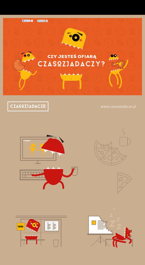 Vector Illustration / 2012 Flat design illustration