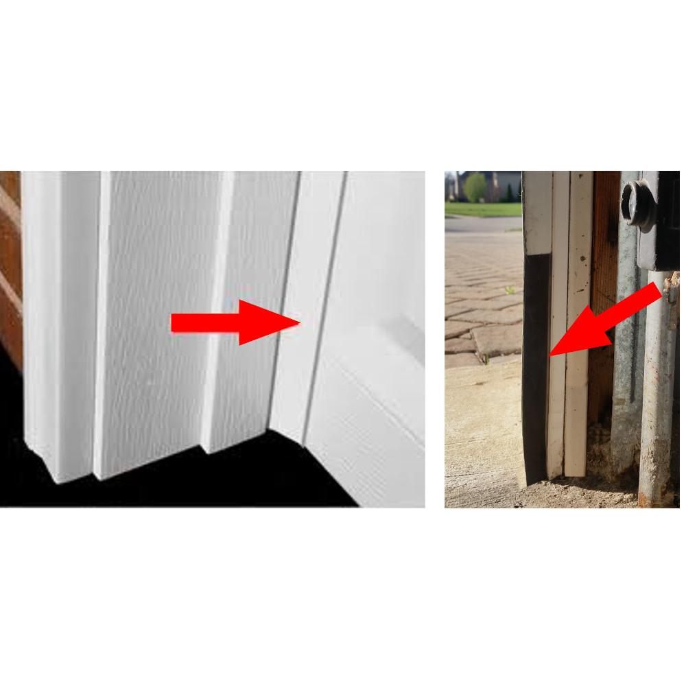 Garage Door Rodent Shield 2 Door Kit Door Weather Stripping Door Kits Garage Doors
