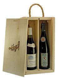 Rustic 2 Bottle Wine Box Gift Set Wine Gift Boxes Wine Box Wine Bottle
