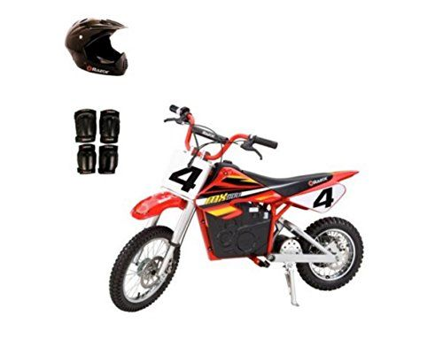 Razor Mx500 Dirt Rocket Electric Bike Motorcycle With Helmet Elbow Knee Pads Details Can Be Found By Clicki Electric Dirt Bike Dirt Bikes For Kids Mini Bike