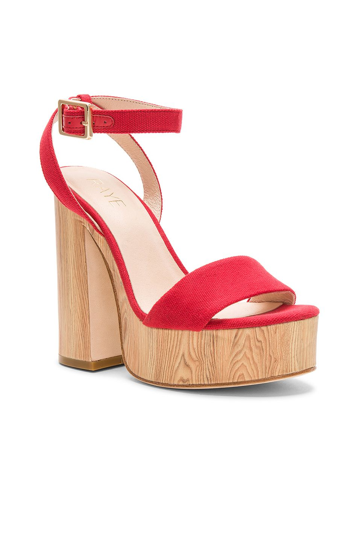 1db1df5032ac RAYE Shayla Heel in Red