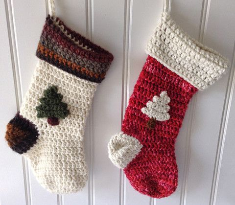 Crochet Christmas Stocking Patterns Yo Baby Yarn Over Baby