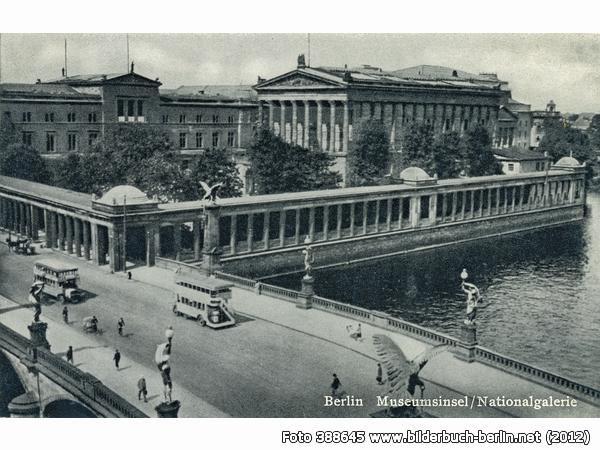 Museumsinsel Nationalgalerie Bodestr 10178 Berlin Mitte 30er Jahre Museum Insel Bilder Berlin Geschichte