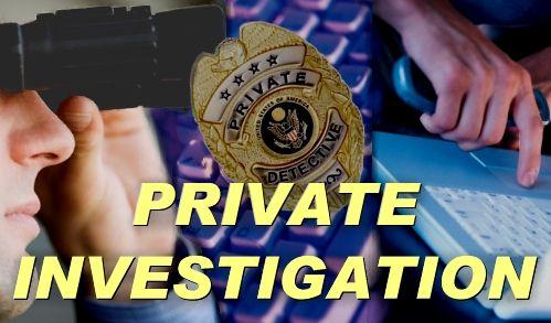 #PrivateInvestigator  #DetectiveServices