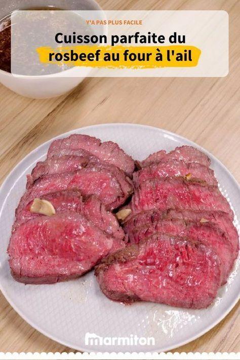Rosbeef au four l 39 ail recette en 2019 recettes pinterest rosbeef au four rosbeef et - Cuisiner un roti de boeuf au four ...